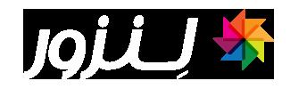 lenzor logo , لوگو لنزور